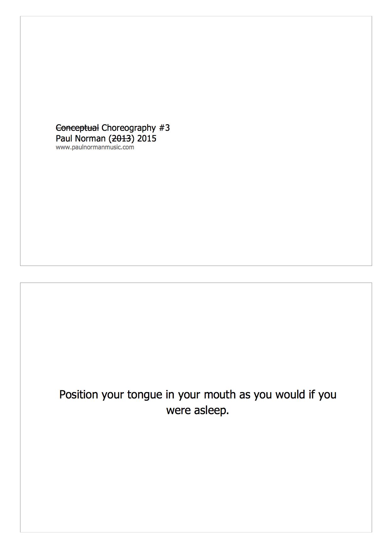 Choregraphy #3